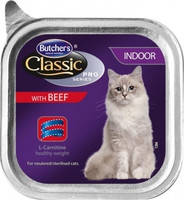 Butcher`s Cat Pro Indoor with Beef 100 гр.