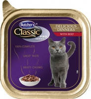 Butcher`s Cat Pro Delicios with Beef 100 гр.