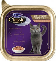 Butcher`s Cat Pro Delicios with Salmon 100 гр.