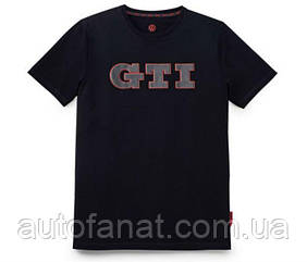 Оригинальная мужская футболка Volkswagen GTI T-Shirt, 3D Print, Men's, Black (5KA084200ARDM)