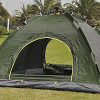 Палатка автоматическая Smart Camp, 2-х местная. Цвет: синий,зеленый и комуфляж!