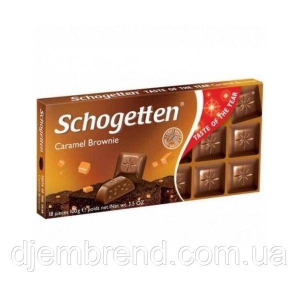 Шоколад Schogetten со вкусом карамельного брауни