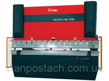 Гидравлические гибочные пресса WC67Y-100/2500
