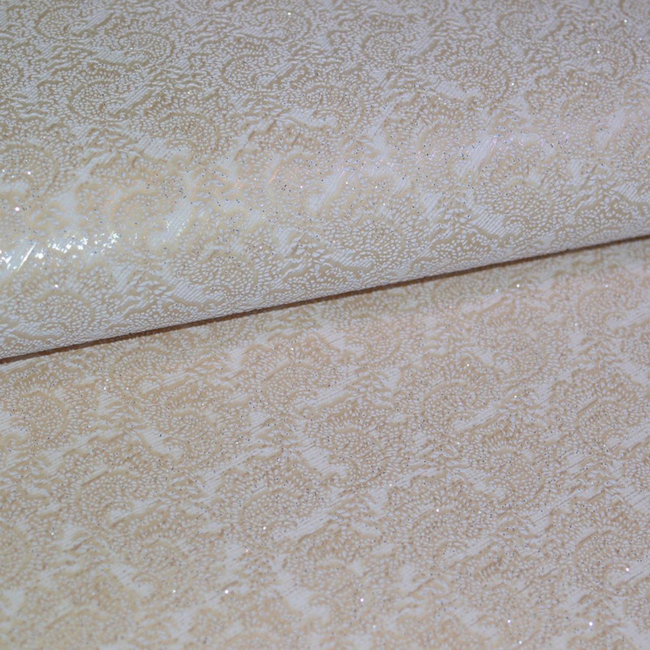 Обои, обои на стену, дворцовый стиль, бежевый, светлый, акрил на бумаге, B77,4 Джаз 5184-01, 0,53*10м