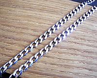 Серебряная цепочка панцирь