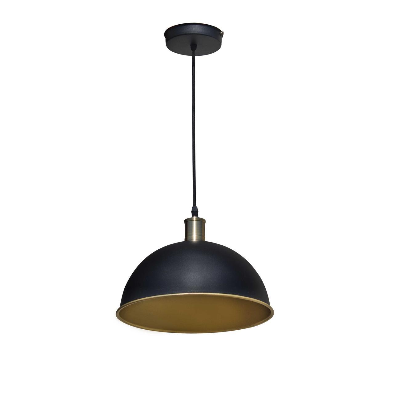Светильник подвесной NL 305 черный/золото