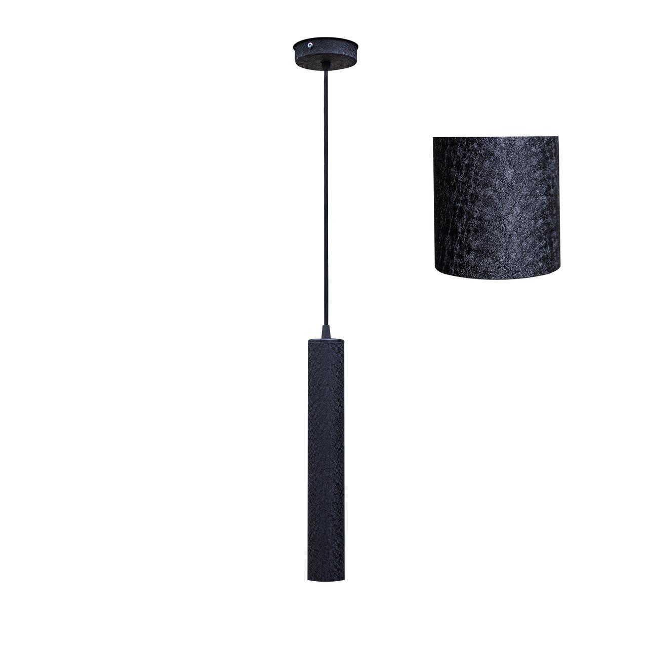 Светильник подвесной в стиле лофт  Трубка  MR 3522 BK