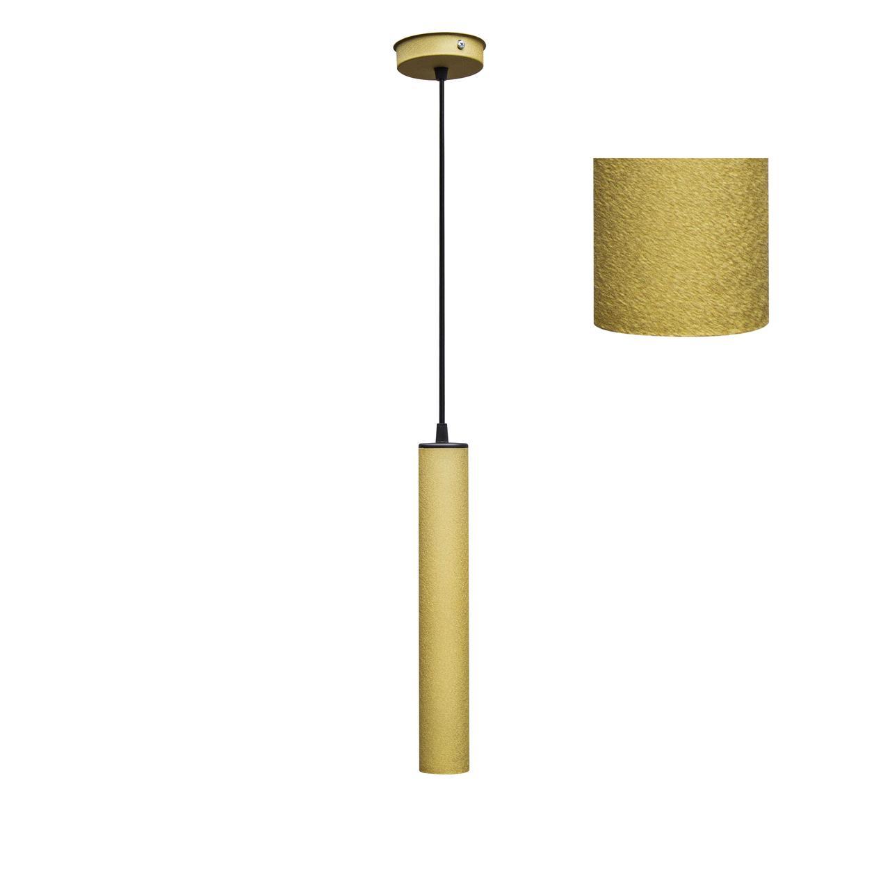Светильник подвесной в стиле лофт  Трубка  MR 3522 GD