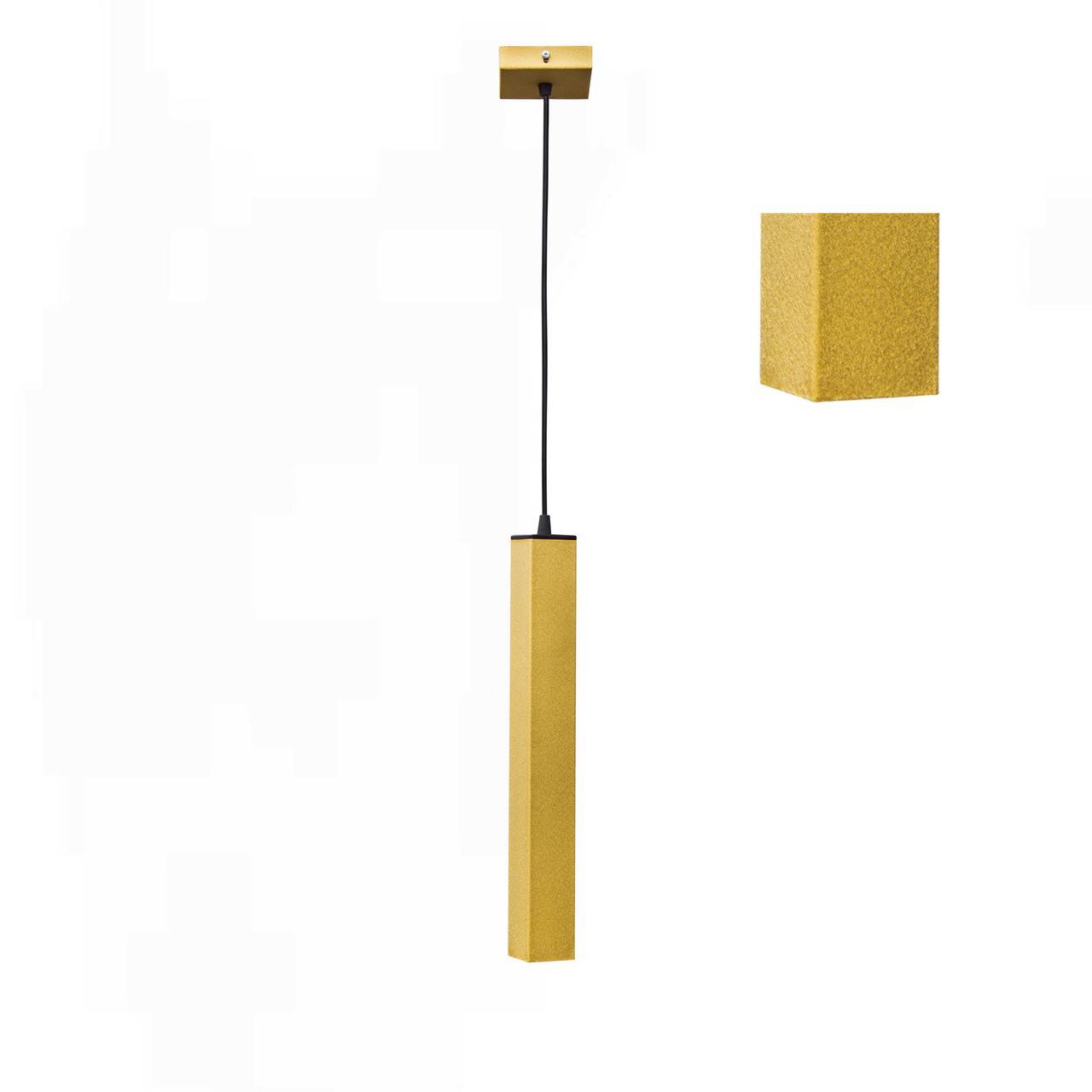 Светильник подвесной в стиле лофт  Трубка  MR 4050 GD