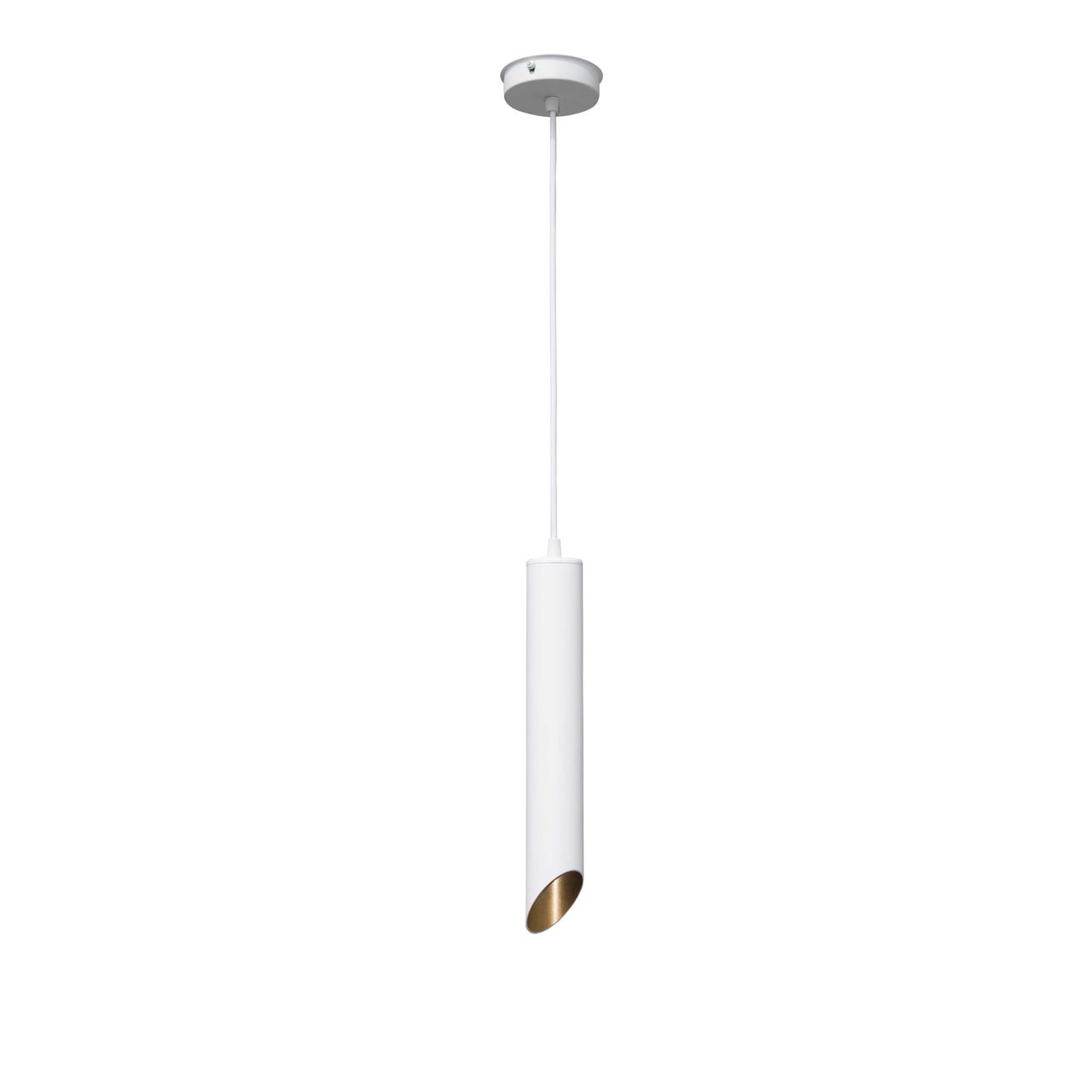 Светильник подвесной в стиле лофт  Трубка  NL3722 W