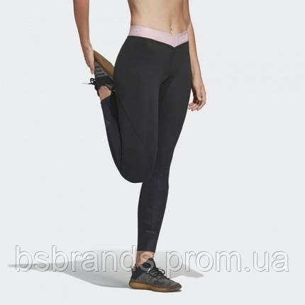 Женские леггинсы adidas ALPHASKIN SPORT 2.0 EMBOSSED 7/8 (АРТИКУЛ: DT6265 ), фото 2
