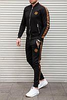 Спортивный костюм Fendi черный на молнии
