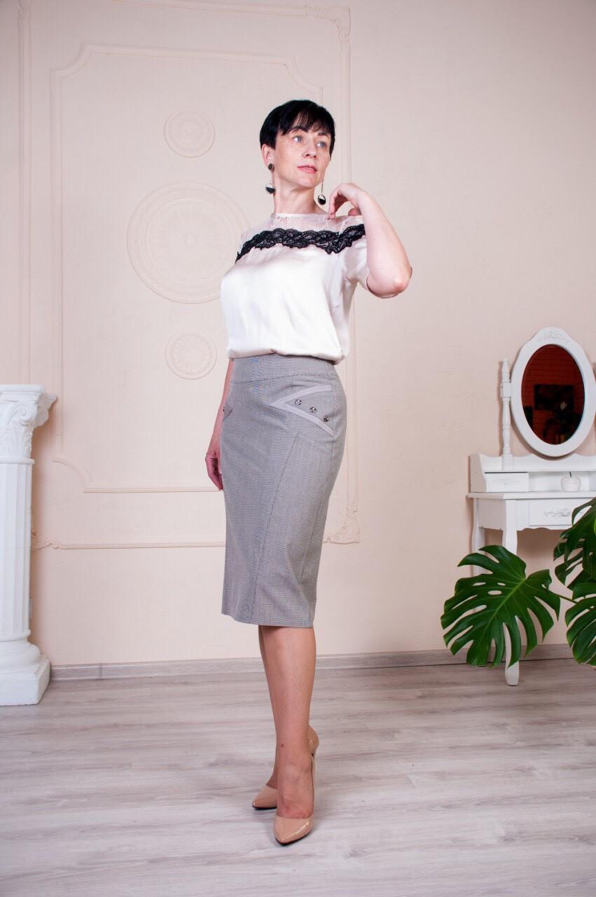 "Женская юбка ""Сабина"" размеры 48-60"