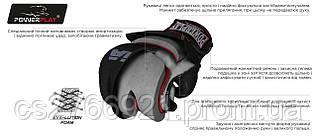 Рукавички для MMA PowerPlay 3053 Чорно-Червоні