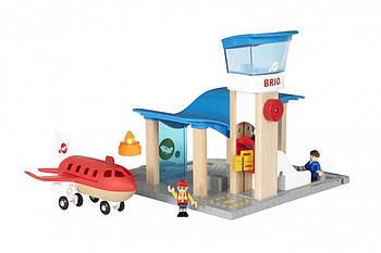 BRIO Набор Аэропорт и Командно-диспетчерский пункт 33883