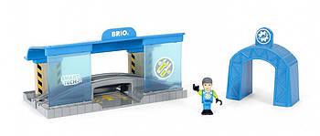 BRIO World Smart Tech Вагоноремонтная мастерская 33918