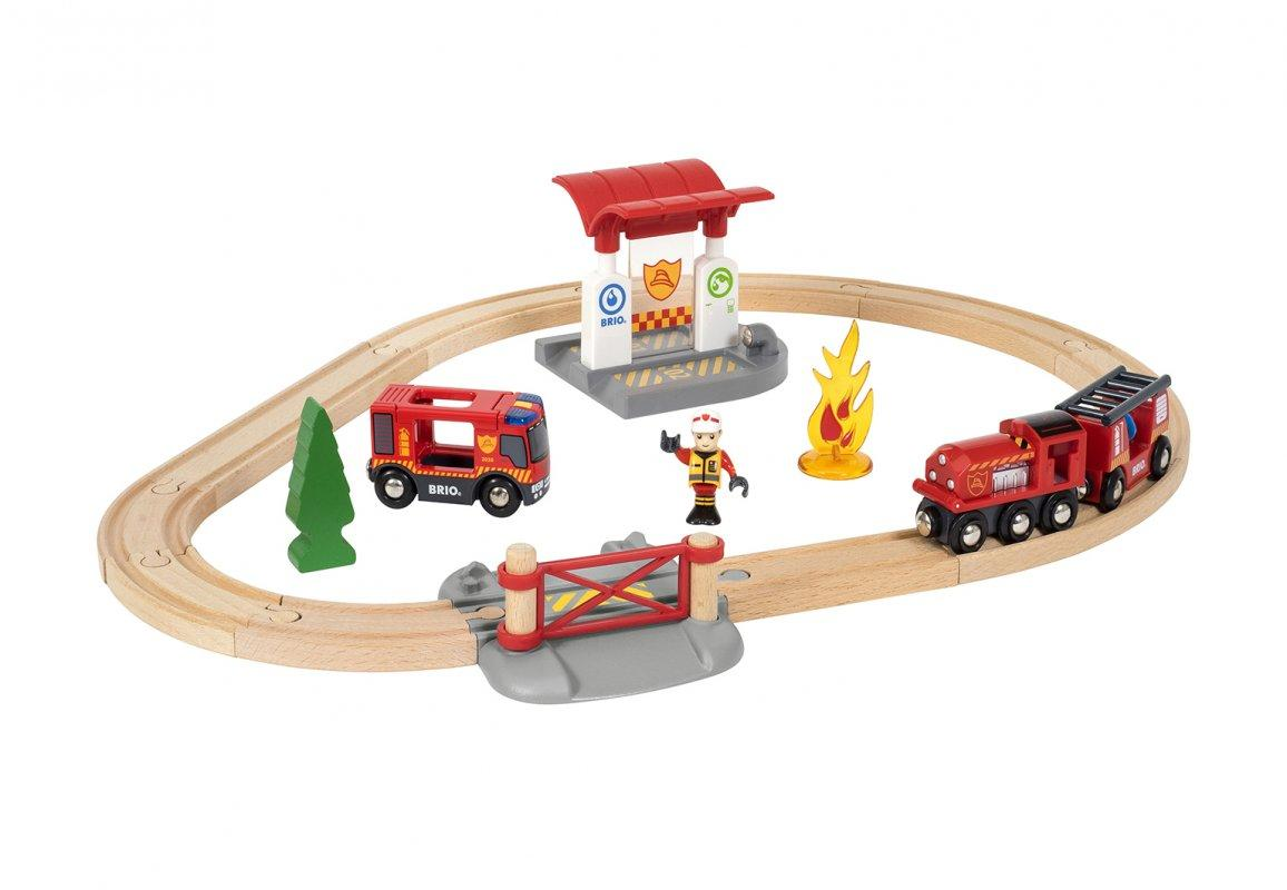 BRIO World НАБОР Пожарная станция 33815