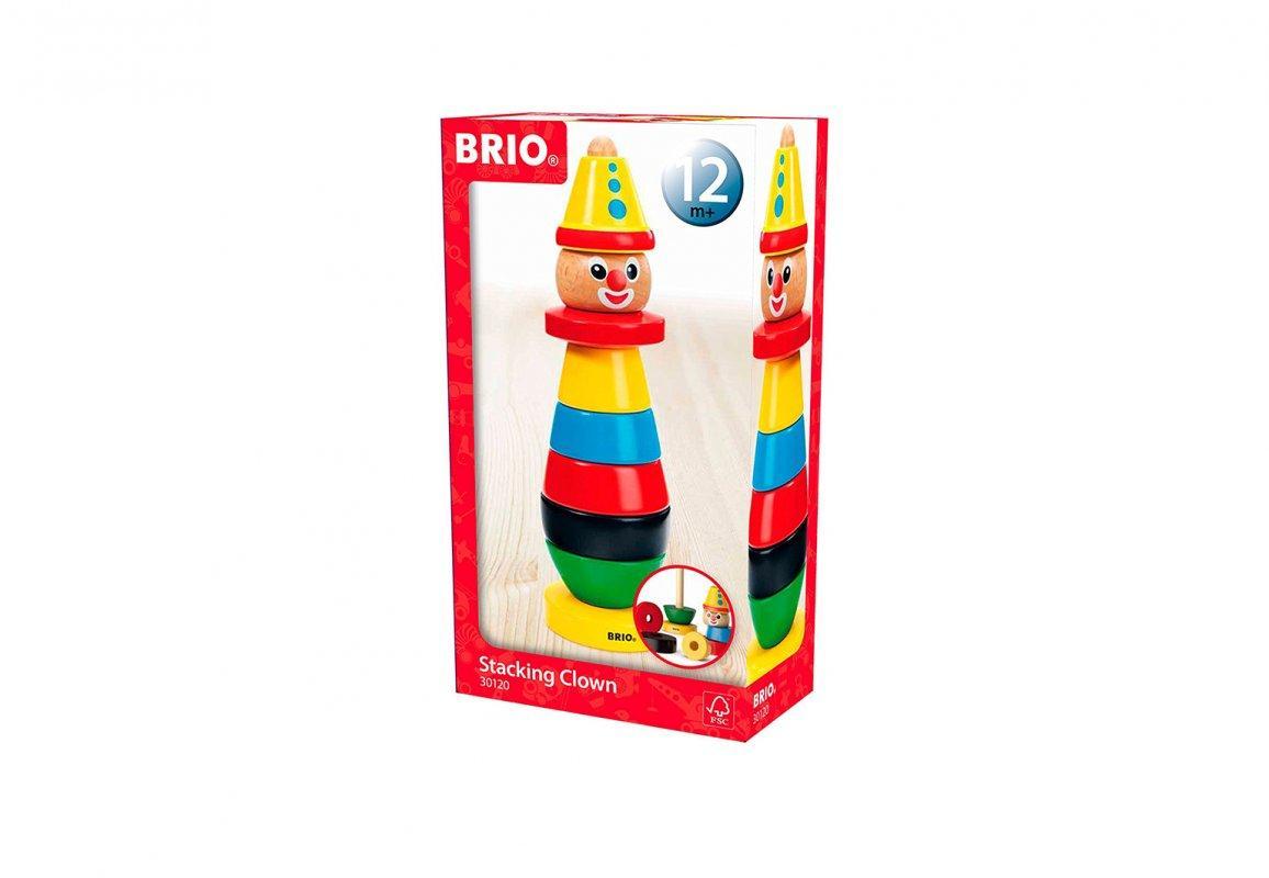 BRIO Todler Пирамидка клоун 30120