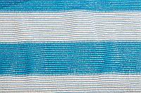 Затеняющая сетка KARATZIS 6х50 бело-голубая 65% затенения