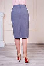 "Женская юбка ""Сабина"" размеры 48-60, фото 3"