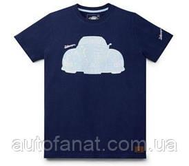 Оригинальная мужская футболка Volkswagen T-Shirt Classic, Cult Auto, Men's, Dark Blue (311084200AZA7)