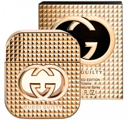 Женская туалетная вода Gucci Guilty Stud Limited Edition ( 75 мл ) ЗОЛОТЫЕ