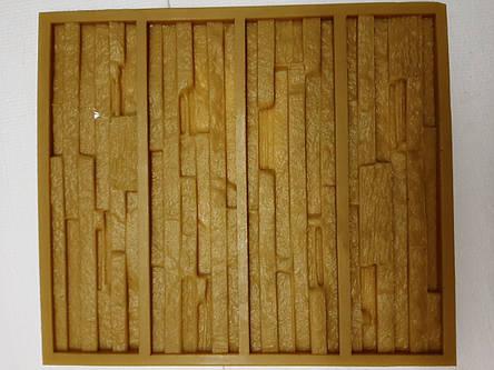 Полиуретановые силиконовые формы для гипсовой и бетонной плитки Крит, фото 2