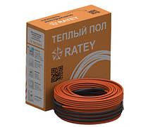 Греющий кабель двужильный Ratey RD2 (875Вт/48,5м) 4,9-6,1 м2