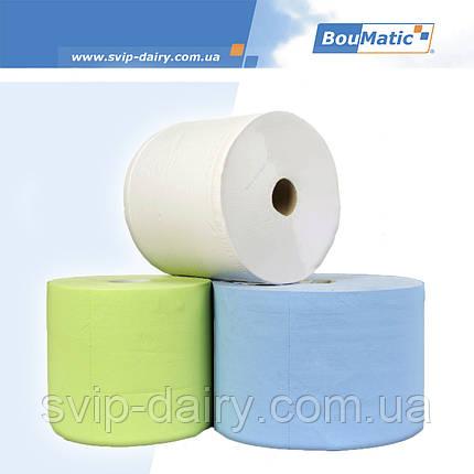 Одноразовые бумажные салфетки для очистки вымени перед доением, фото 2