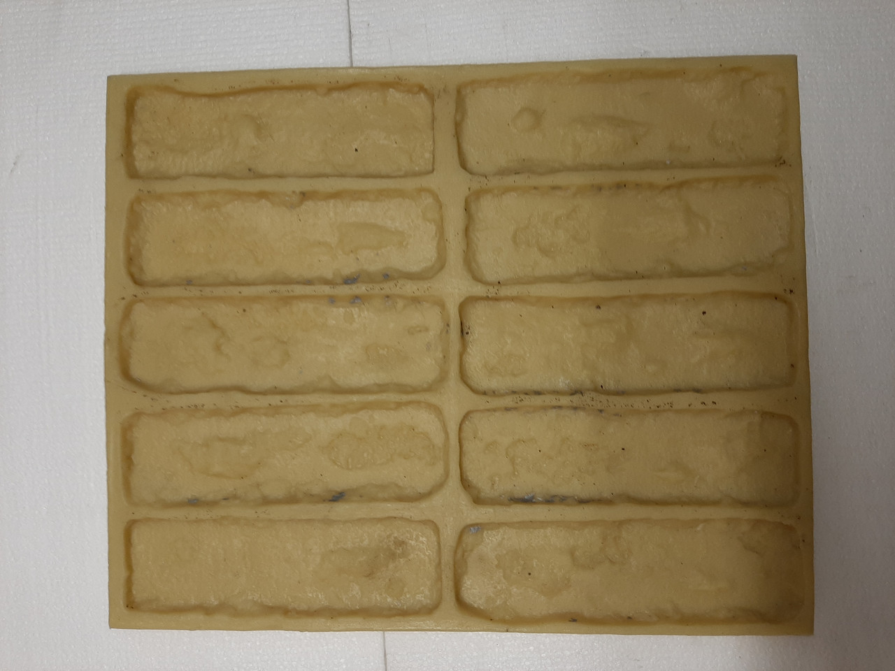 Полиуретановые силиконовые формы для плитки Бостон кирпича из гипса