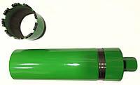 Алмазная коронка трех секционная Almaz Group с сегментом Turbo-X  Ø  28 мм