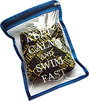 Водонепроницаемая сумка для мужских плавок ORGANIZE К003 синий, фото 1