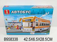 Конструктор Троллейбус  SLUBAN 458 деталей