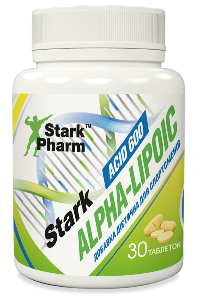Антиоксидант Stark Pharm - Alpha Lipoic Acid (ALA) 600 мг (30 таблеток)