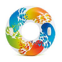 Надувной круг с ручками Intex 58202 119 см, фото 1