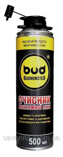 """Очиститель монтажной пены """"BudmonsteR"""", 500 мл"""