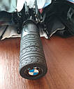 Оригинальный складной зонт BMW M Motorsport Folding Umbrella, Black/White (80282461136), фото 6