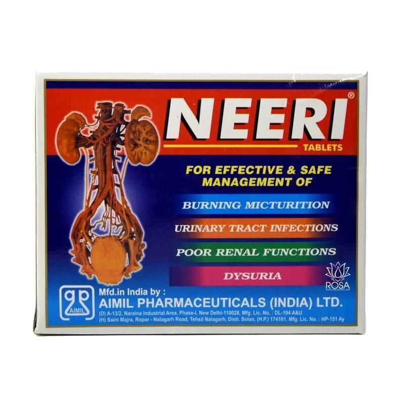 Нири Таблетки (Neeri Tablets, Aimil Pharmaceuticals), 30 таблеток