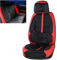 Модельные чехлы R 9D на передние и задние сиденья автомобиля Toyota Prius NHW20 2003 - 2009