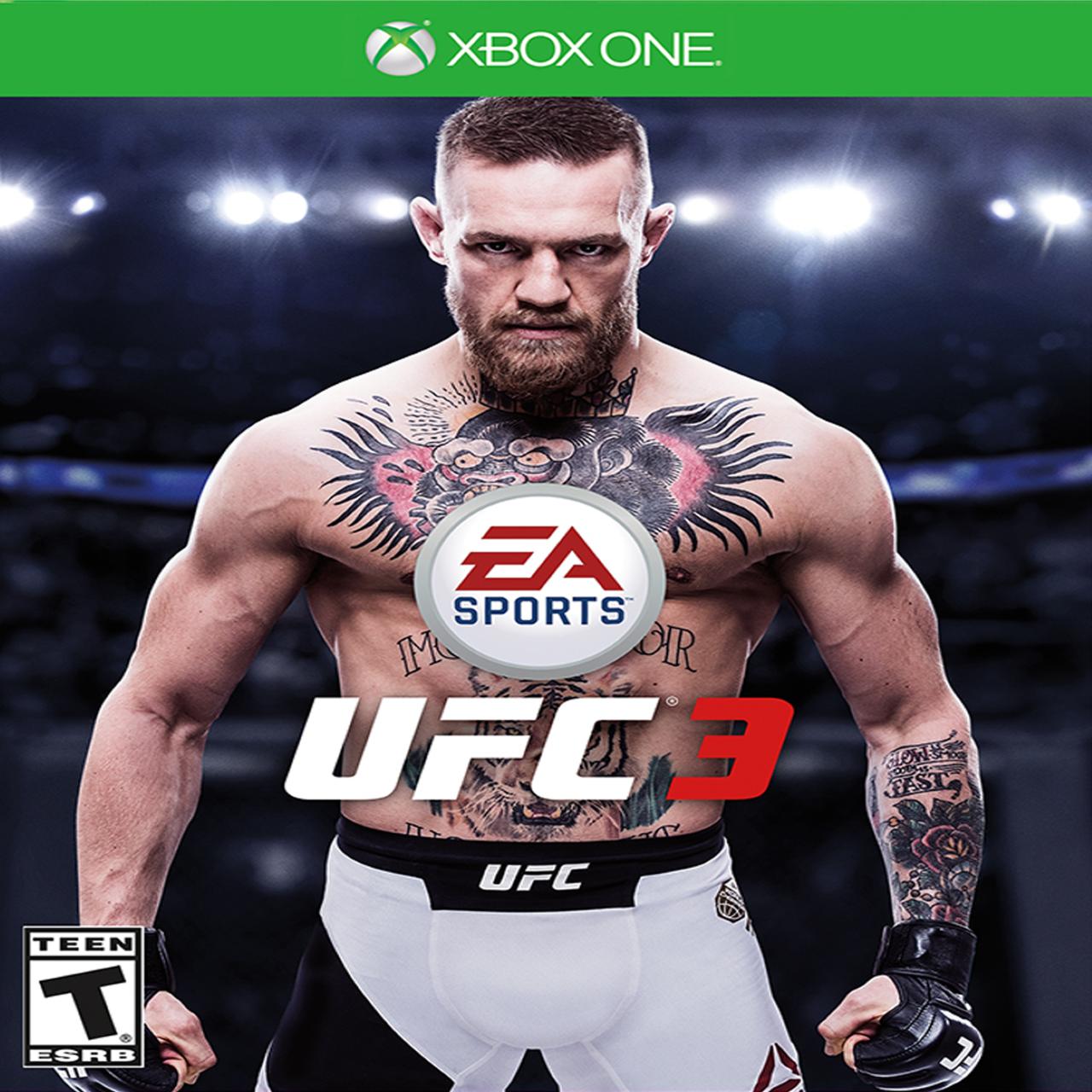 UFC 3 (російські субтитри) XBOX ONE