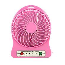 Міні-вентилятор Portable Fan Mini Рожевий