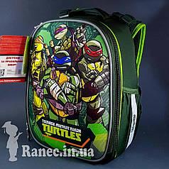 Рюкзак школьный, каркасный H-25 'Tmnt'