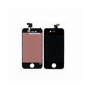 Дисплей Модуль Apple iPhone 4G с сенсором и рамкой Black