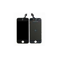 Дисплей (LCD) Apple iPhone 5S с сенсором и рамкой Black Original