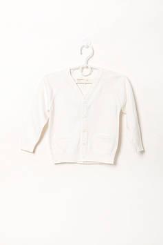 Кардиган Prenatal 9-12 Months (76 cm) белый (S523CA193KP008_WhiteN)