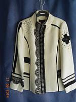 Роскошный пиджак с кружевами батал Giani Forte, фото 1