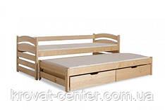"""Кровать """"Марта Люкс"""" с дополнительным спальным местом и выдвижными ящиками"""