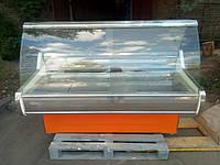 Витрина  холодильная Росс 1,6 м. гастрономическая витрина б/у, фото 1