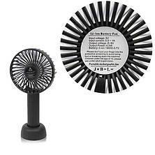 Портативный настольный вентилятор Eternal Classics черный, фото 3