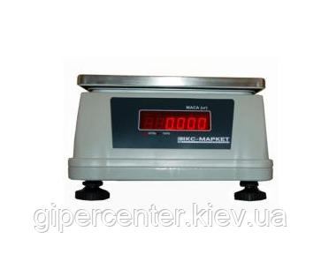 Весы для простого взвешивания ИКС-Маркет ICS - 6 PW, фото 2